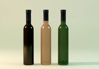 3ds max wine bottles