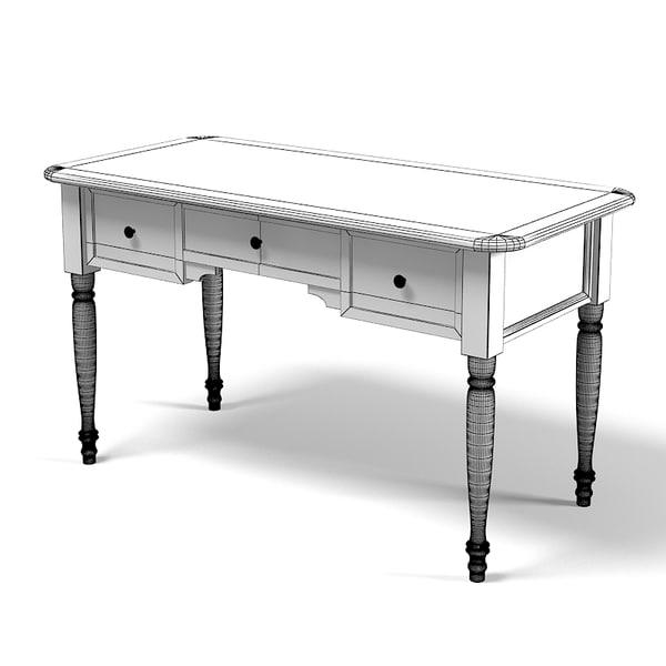 3ds max domus mobili desk for Domus mobili