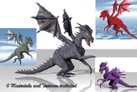 dxf dragon