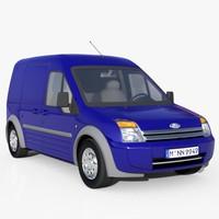 3d model transit vans