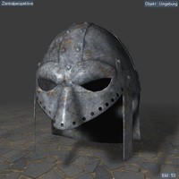 3d model helmet gladiator