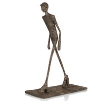 Human Man statue art modern decor home accessory accent decorative contemporary male sculpture