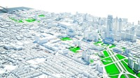 city philadelphia 3d max