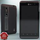 LG Optimus 3D P920 3D models