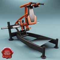 Leg Press Squat Machine