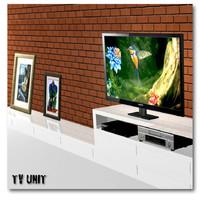 tv player unit 3d obj
