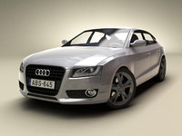 3d model of audi a5