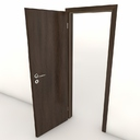 pocket door 3D models