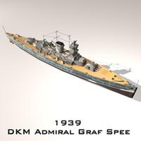 Admiral Graf Spee (cruiser warship)