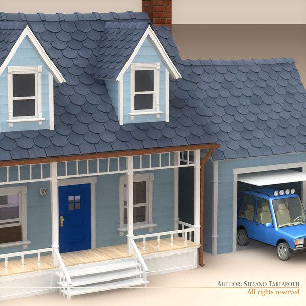 Car Garage 3d Model 3d Model of Car Garage