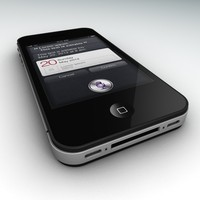 3d iphone siri model
