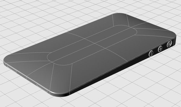 iphone air 3d model - iPhone Air... by ciccaresedesign