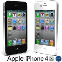 3d apple iphone 4s model