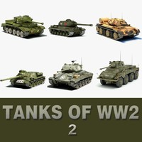Tanks of WW2 (2)