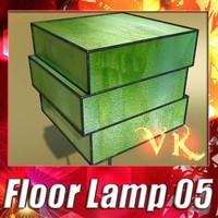 3ds max modern floor lamp 05