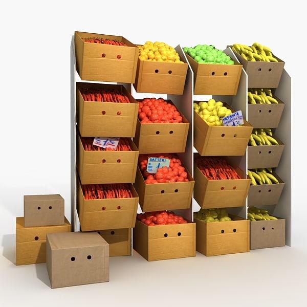 Como hacer maquetas como hacer una maqueta de un supermercado for Como hacer una cocina de carton