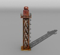 sanding tower 3d lwo