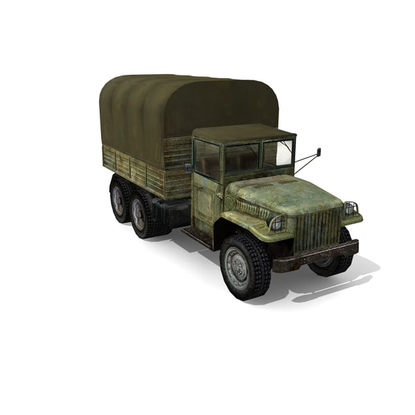 usa military truck 3d 3ds - Truck... by Stasma
