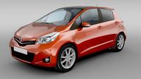 Toyota Yaris (Vitz) 3 rd generation