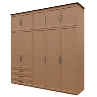 3d wardrobe dolap cabinet