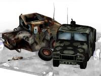 3d model micro hummer