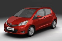 2012 Toyota Yaris (Vitz)