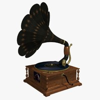 FR Antique Gramophone