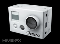 3d model gopro hero hd digital camera
