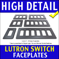 Lutron Light Switch Faceplates
