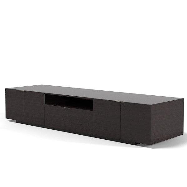 minotti tv sideboard 3ds. Black Bedroom Furniture Sets. Home Design Ideas
