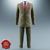 3dsmax men suit v2