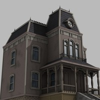 house haunted 3d model