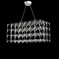 Quazar Universe Square Suspended Lamp pendant Hanglamp lattice modern contemporary hi-tech