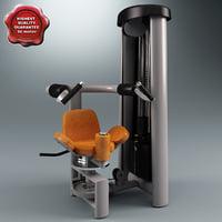 maya rotary torso machine