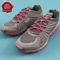 Womens Skechers Tone-ups Run Shoes