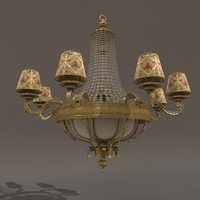 maya crystal chandelier