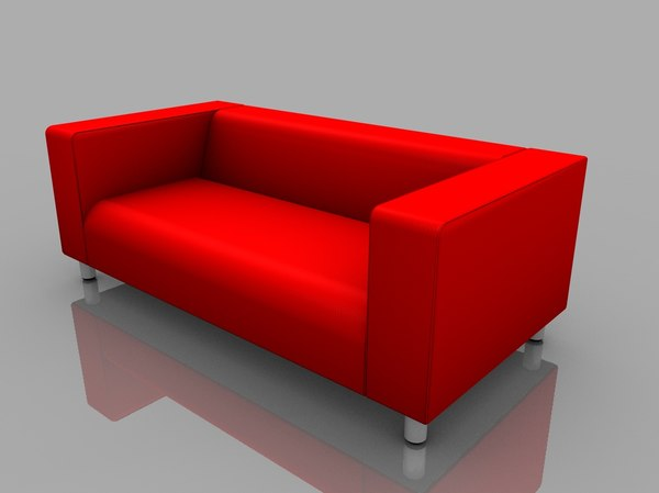 3d Model Klippan Couch Ikea