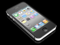 3d apple iphone 4 model