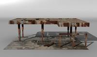 derelict garage 3d 3ds