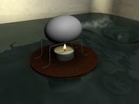 3d scene egg model