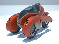 3d 3dm concept motorcycle