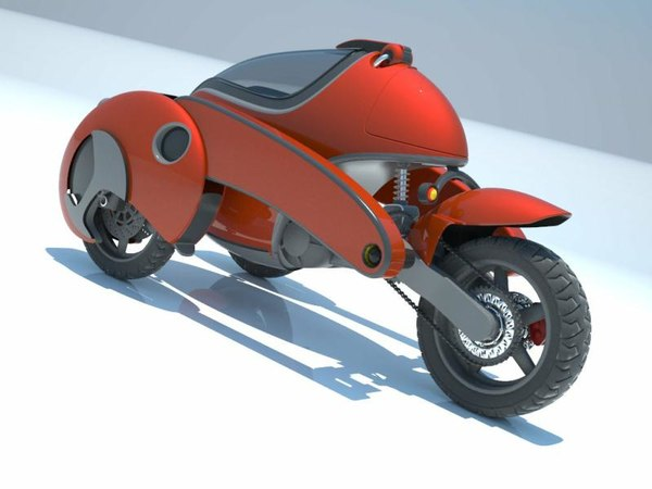 3d 3dm concept motorcycle - Tricycle... by pierpaololazzarini