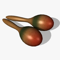 3ds max maracas percussion