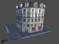 3d model paris house