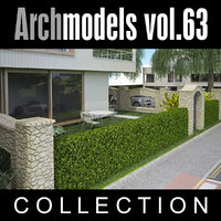 3d model archmodels vol 63