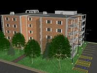 free max model apartment complex