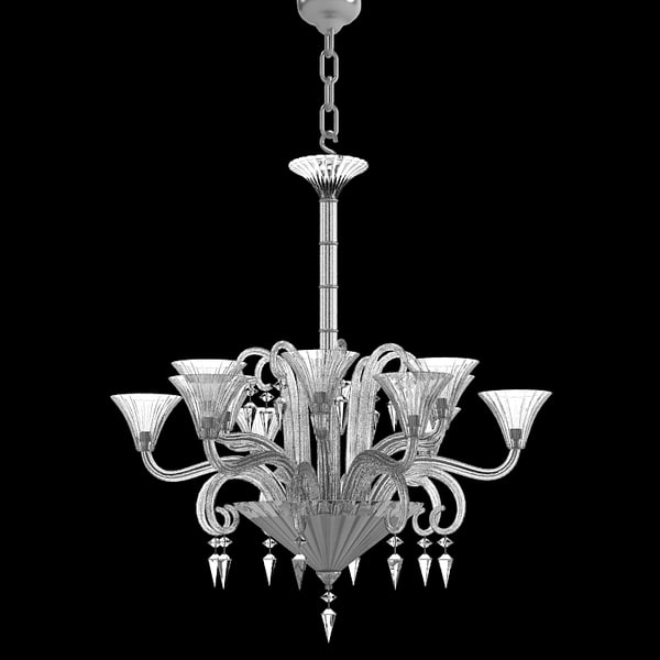 maya baccarat crystal glass - Baccarat crystal glass chandelier modern contemporary mill... by shop3ds