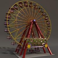 3d carnival model