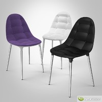 cassina caprice chair philippe 3d model
