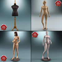 Female Mannequins Collection